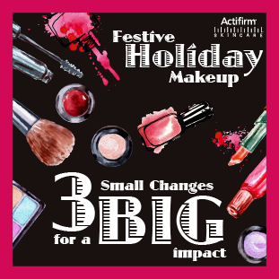 Festive Holiday Makeup: Get #GlowingSkin this #Holiday! #BeautyBlog