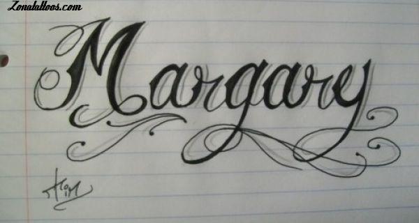 Diseo de Nombres Margary Tattoo