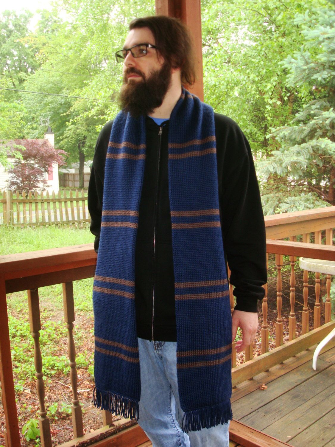 Harry Potter Ravenclaw Movie-Replica Scarf, 3rd year. Book colors ...