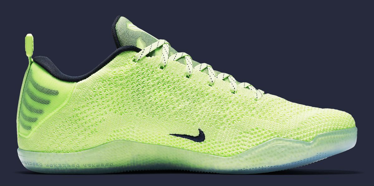 our first look at the nike kobe 11 elite 4kb liquid lime