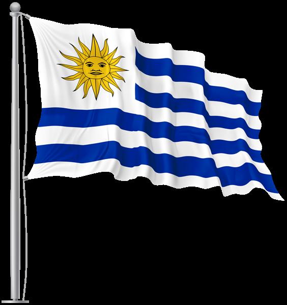Uruguay Waving Flag Png Image Png Images Uruguay Png