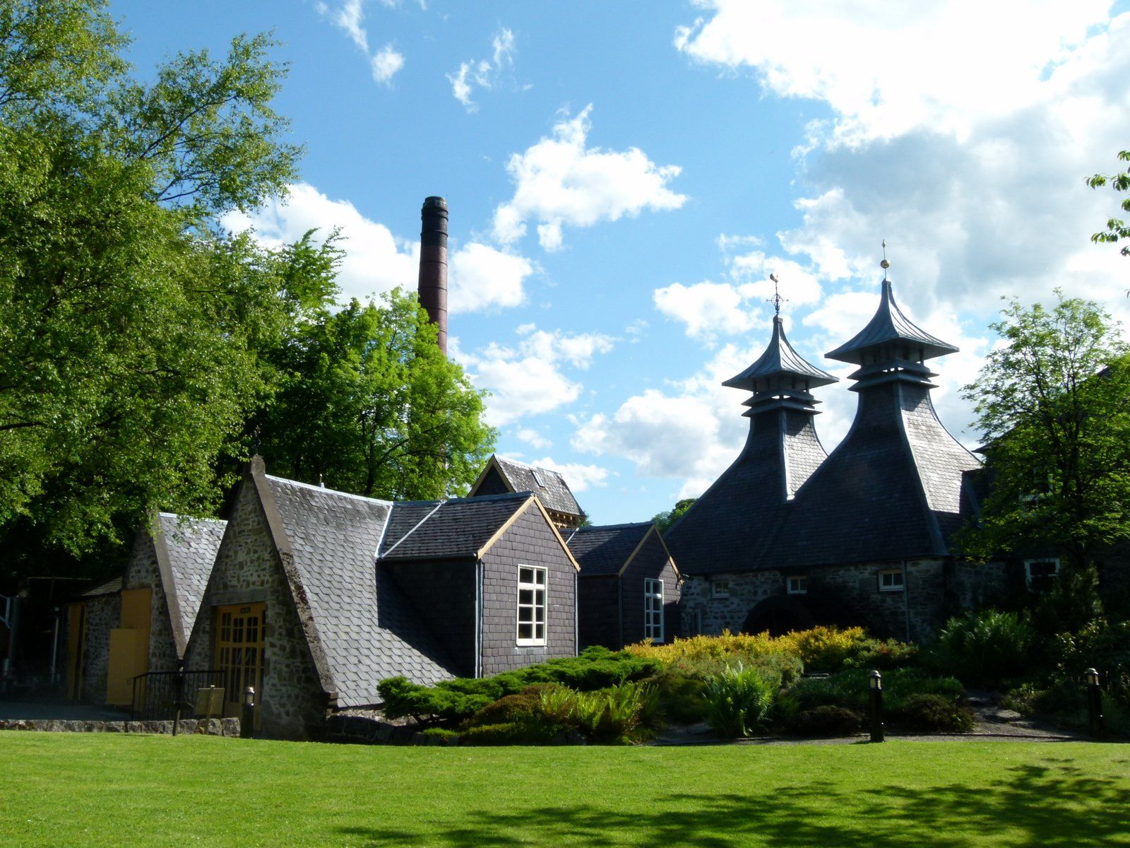 Strathisla Distillery near Keith, Moray