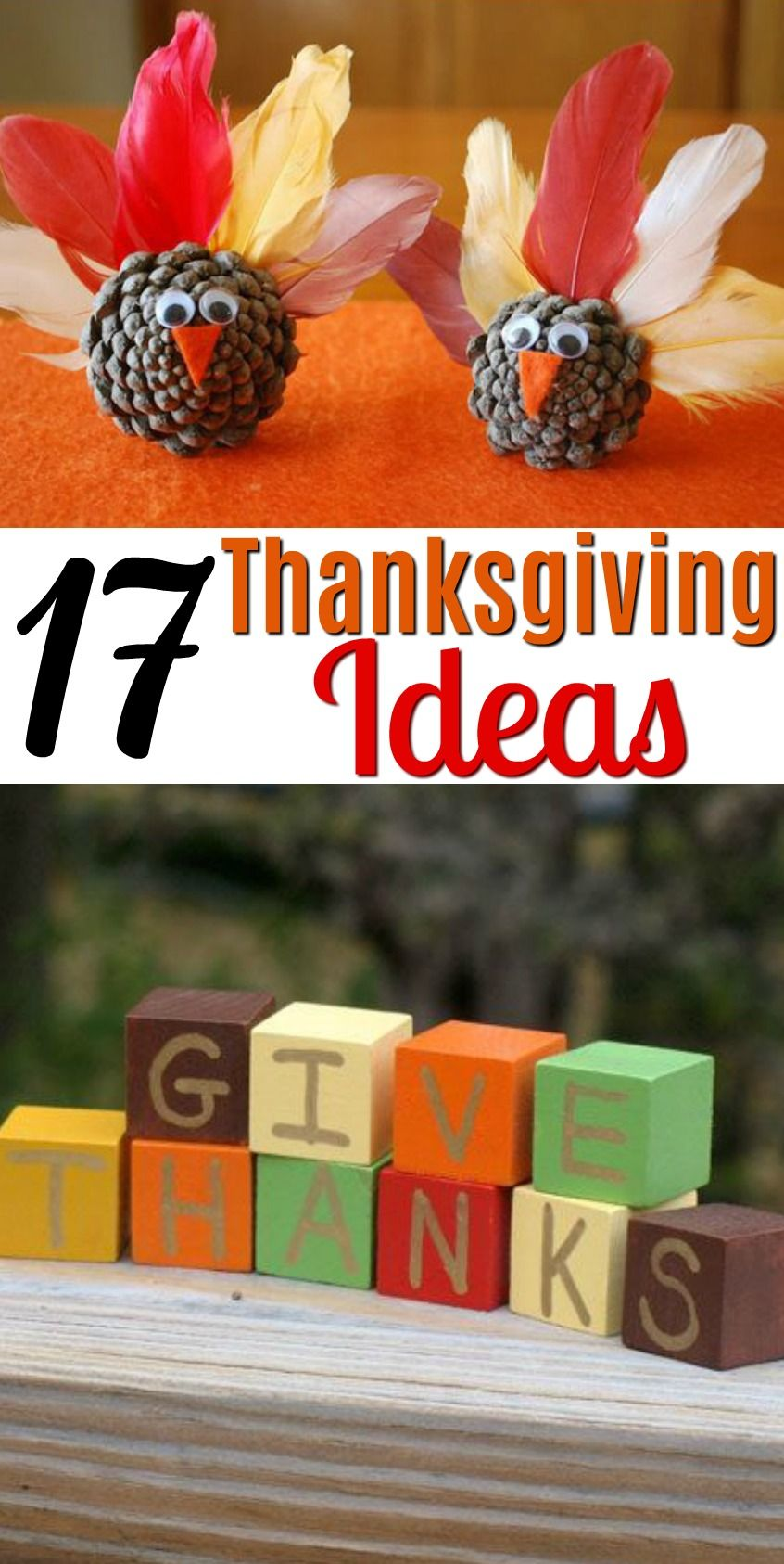 17 Thanksgiving Diy Ideas A Little Craft In Your Day Thanksgiving Crafts Diy Thanksgiving Decorations Diy Thanksgiving Crafts Decorations
