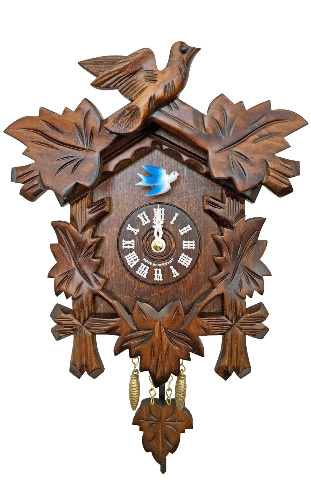 German Black Forest Cuckoo Clock With Music Chimes German Usa Cuckoo Clock Clock Wall Clock