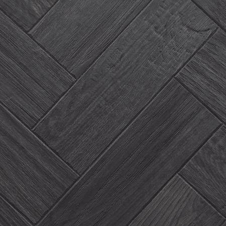 Karndean Art Select Wood Plank Black Oak Parquet 9 X 3 Vinyl