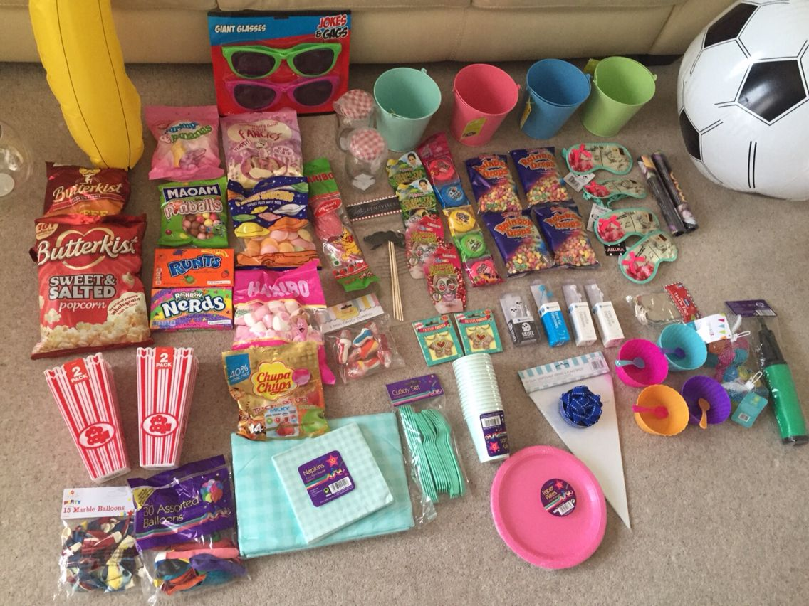 A 11 Year Olds Sleepover Party Supply S