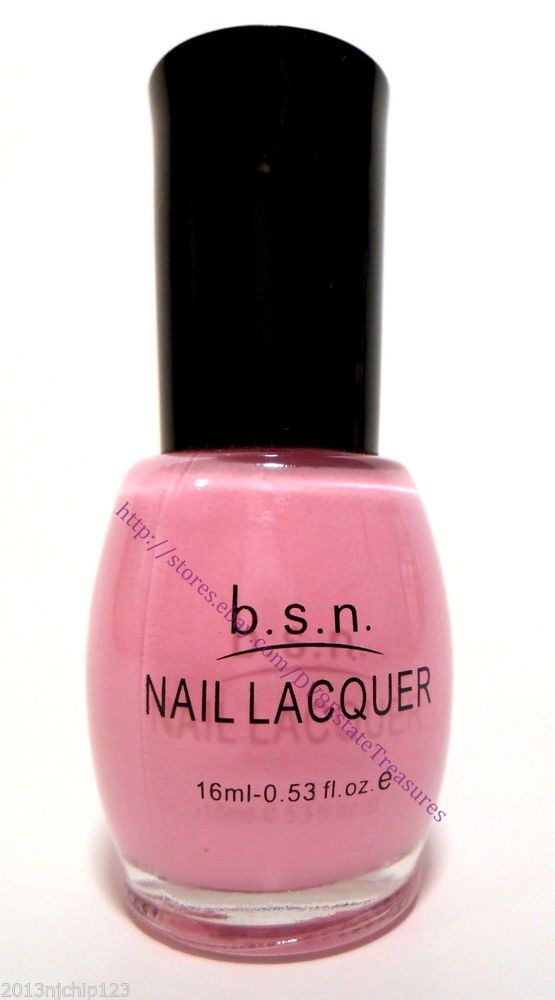 Light Pink Nail Polish/Lacquer by BSN Beauty Sense New York # 40 ...