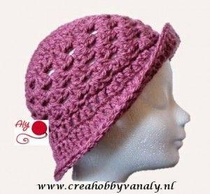 Haakpatroon Hoedje Haken Fotoshoot Crochet Beanie En Hats