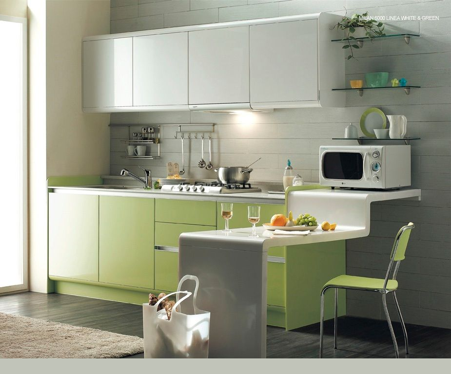 As per the principles of vastushatra the interior colour for Kitchen dining hall design