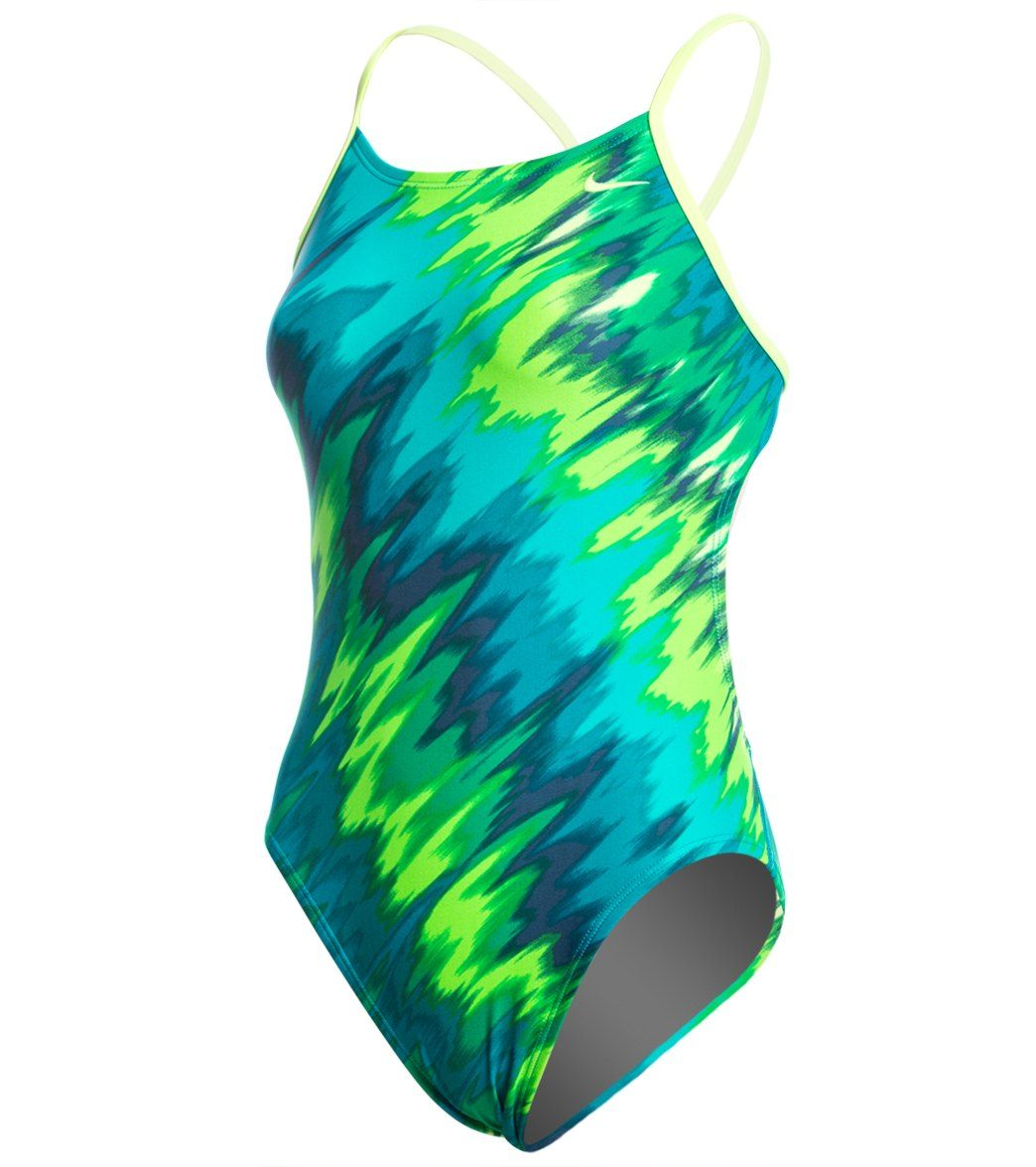 Nike Immiscible Cut Out Tank One Piece Swimsuit at SwimOutlet.com - Free  Shipping