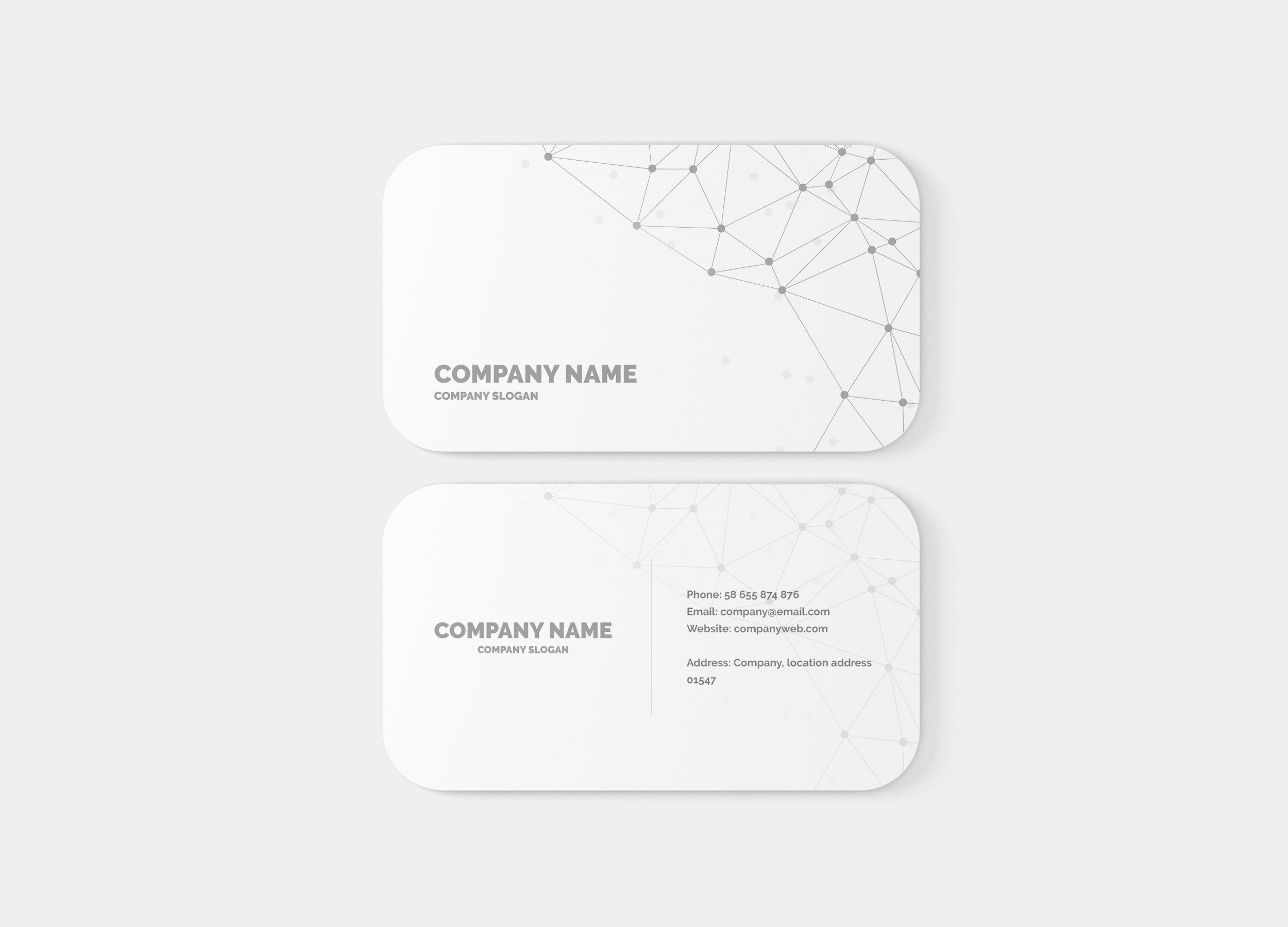 Rounded Corner Business Card Mockup Business Card Mock Up Postcard Mockup Square Business Card