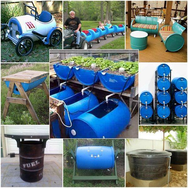 Uses For 55 Gallon Barrela Mit Bildern Pflanzenkubel Fur Den Garten Fass Gartengestaltung Ideen