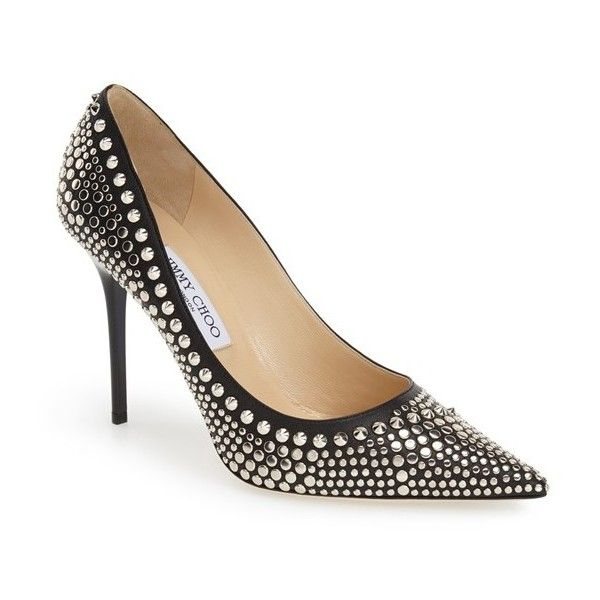 5bd15dbab3f6 Jimmy Choo  Abel  Studded Pump
