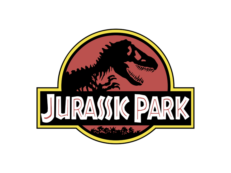 The Jurassic Park logo available for download as PNG and