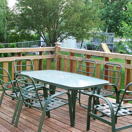 Plan For Privacy   Before Inspiring Cool Deck Designs Makeovers Check More  At Http:/