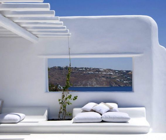 picture frame greece greek interior design | stunning greek decor