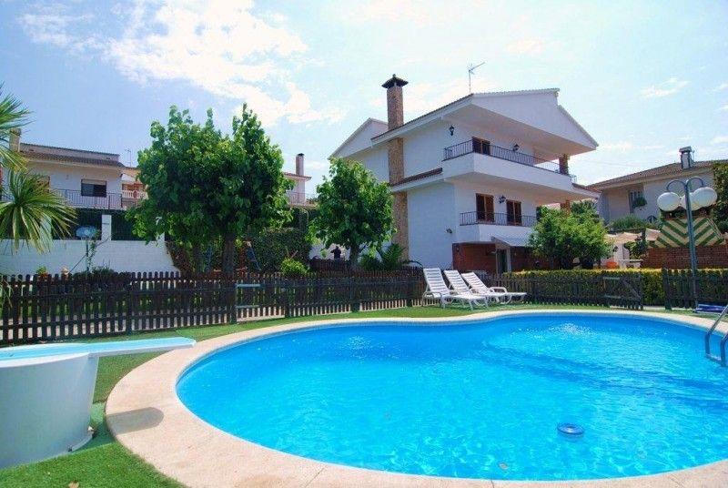 Ferienhaus Pineda de Mar Costa Maresme Villa Spanien