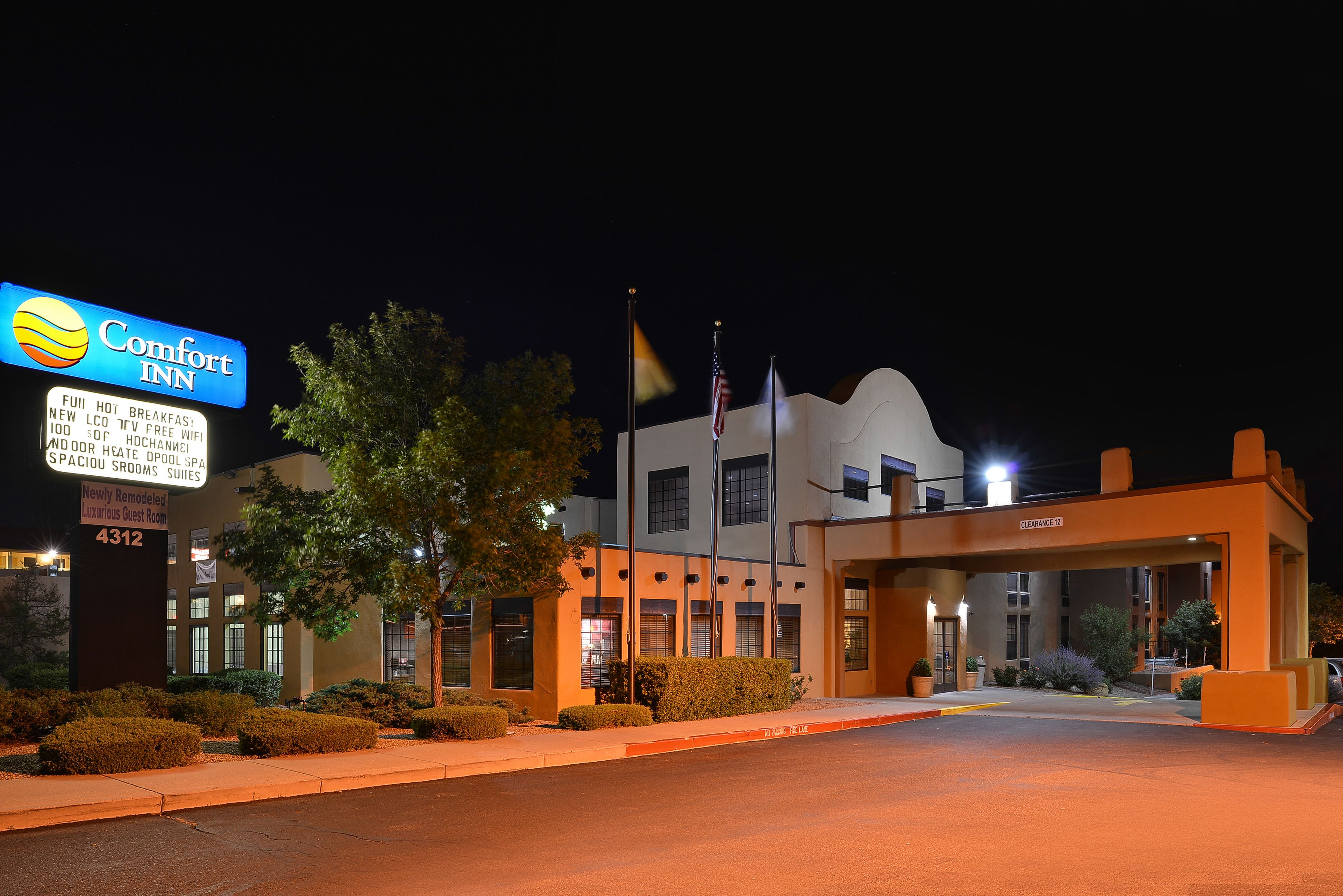 Satan Fe Comfort Inn 4312 Cerrillos Road Santa Fe Nm 87507 Trip