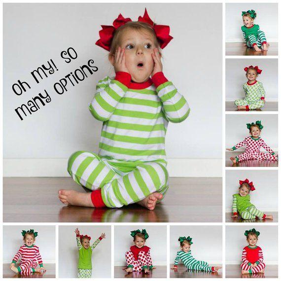 Personalized Christmas Pajamas, Family Christmas Pajamas