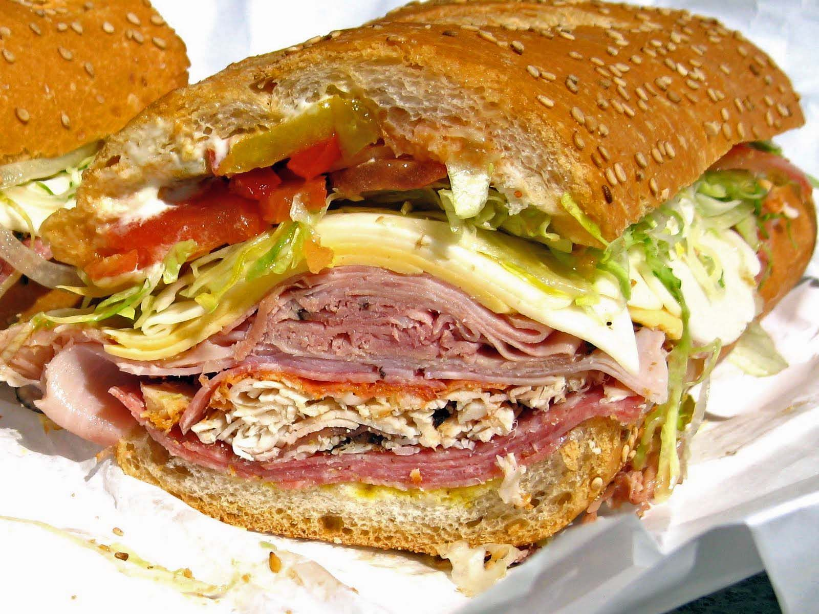 Image result for italian cold cut sub