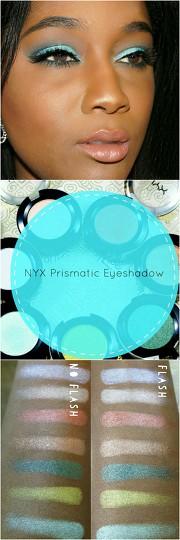 Nyx Prismatic Eyeshadow Review   Treceefabulous.com