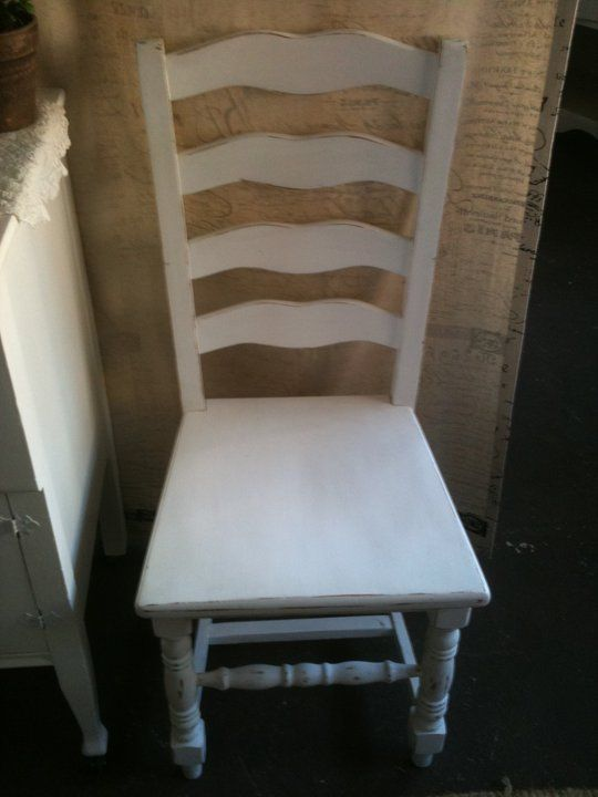 these ladder back chairs would look awesome with the gateleg table