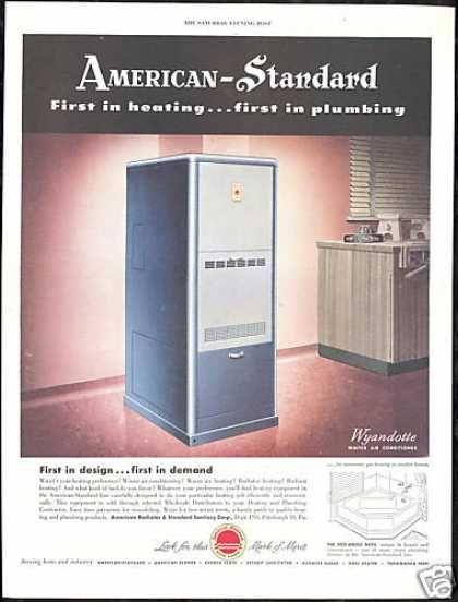 American Standard Heating Plumbing Furnace 1949 Furnace Repair