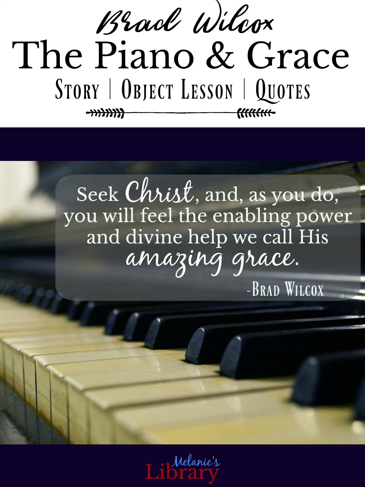 Amazing Grace and the Analogy of Piano Lessons Piano