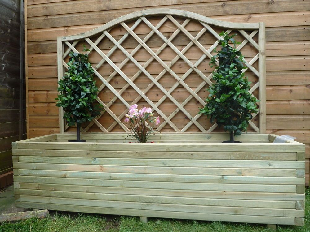 How To Build Large Wooden Planters « Margarite Gardens 400 x 300