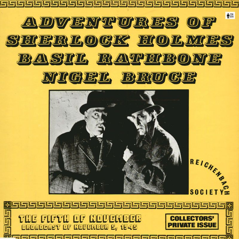 Sherlock Holmes The Fifth of November and the Adventure