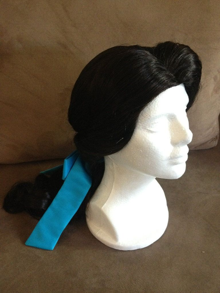 Belle Village Princess Wig. $275.00, via Etsy.