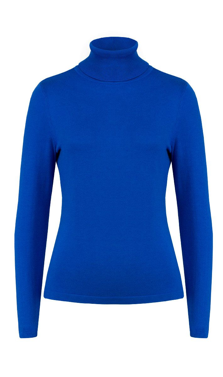 LIVELY' royal blue turtleneck sweater | Carlisle Fall 2013 | www ...