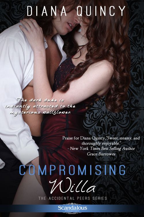 Compromising Willa by Diana Quincy. A Regency romance with a perfectly evil villain that delves into the place of women in the Regency society in a meaningful and sexy way.
