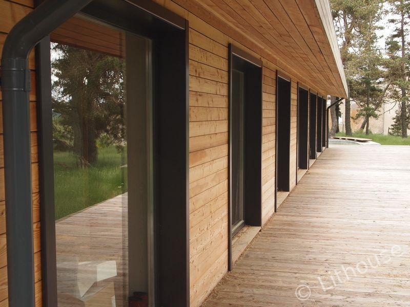constructeur maison bois contemporaine prix   Une maison ...