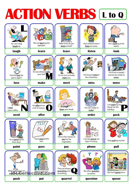 Imagen Relacionada Verbos Ingles Espanol Ingles Para Preescolar Libros En Ingles Pdf