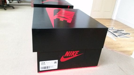 Air Jordan Or Nike Shoebox Storage Case Box Collect Shoe Box