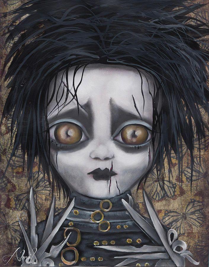 edward scissorhands creepy