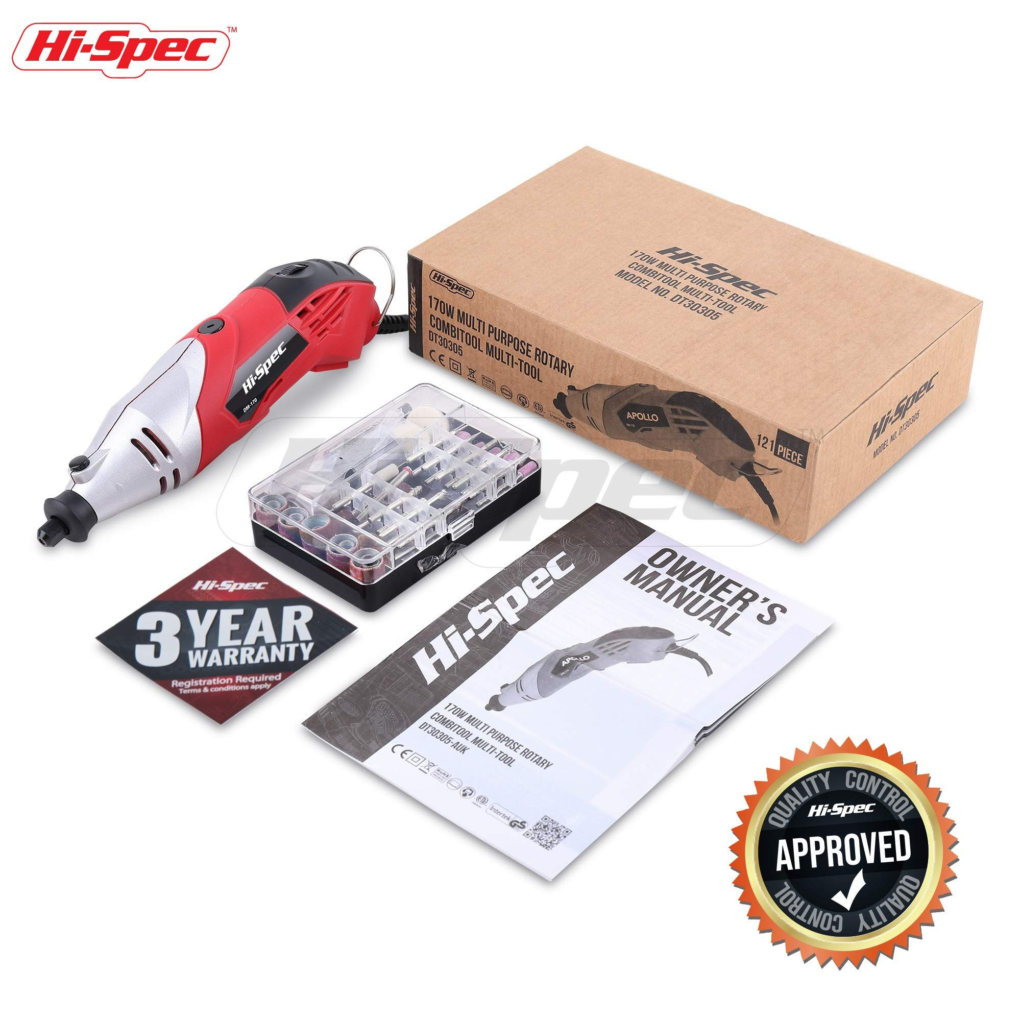 HiSpec 1 4A 170W Rotary Tool with Variable Speed Switch and