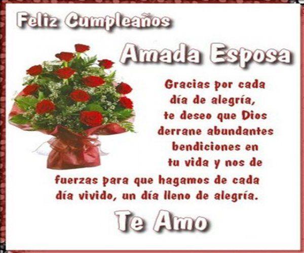 Imagenes De Cumpleaños Para Facebook Amada Esposa Infografias
