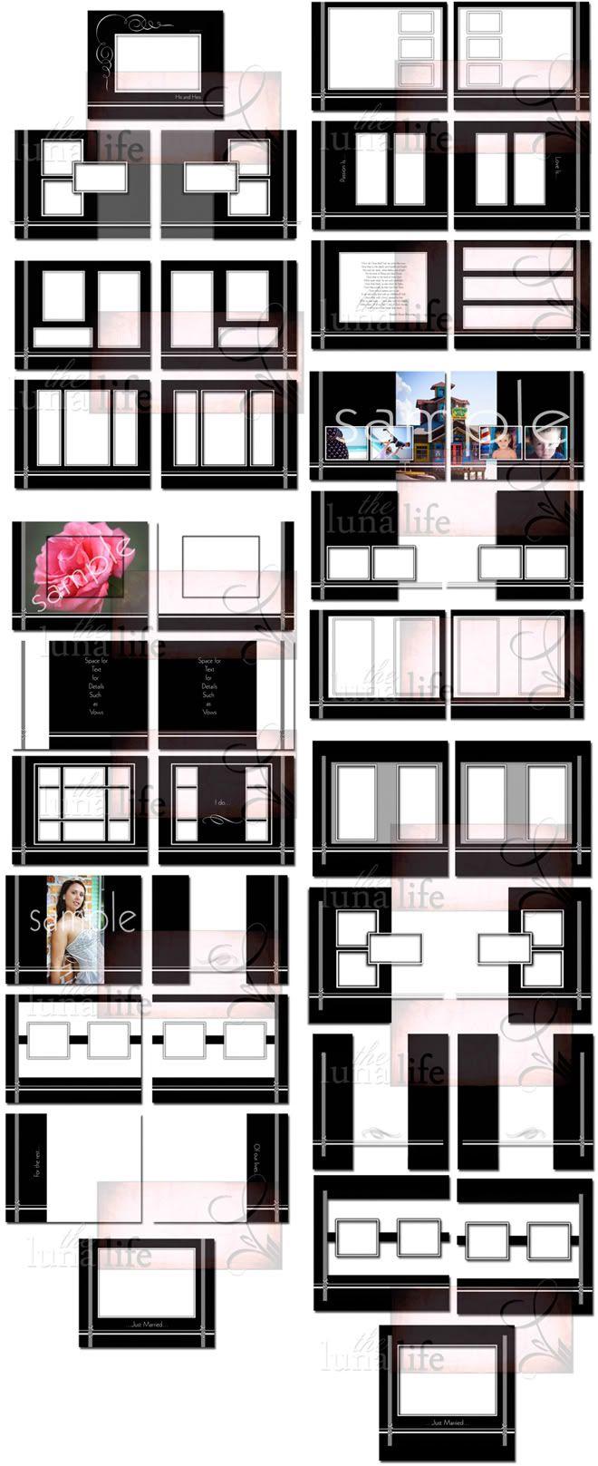 wedding album page layout - Google Search | LIFE | Pinterest ...