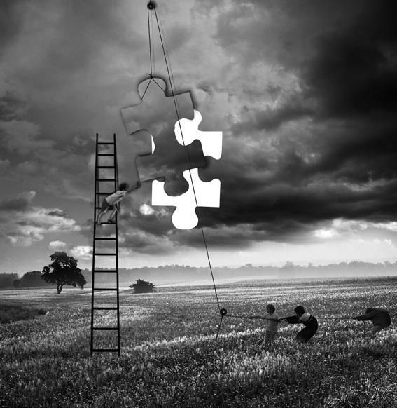 Amazing Surreal Photography By Alastair Magnaldo Combine - Photographer combines photoshops his own photos to create surreal landscapes