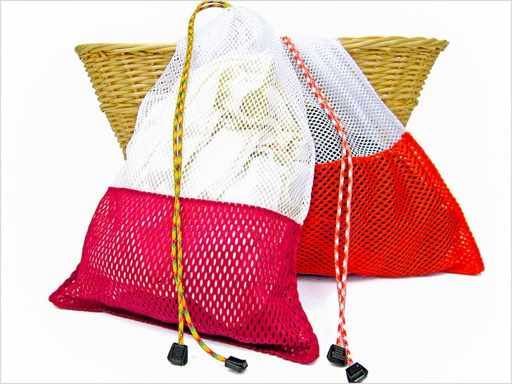 Sew4home Transform Your E Mesh Laundry Bags And A Whole Lot Of Other Sewing Craft Tips Great Site