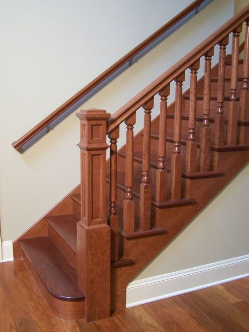 Baluster: L9  Newel: C7    Rail: G  Stair Style:  Open End   Starting Application: Quarter Circle