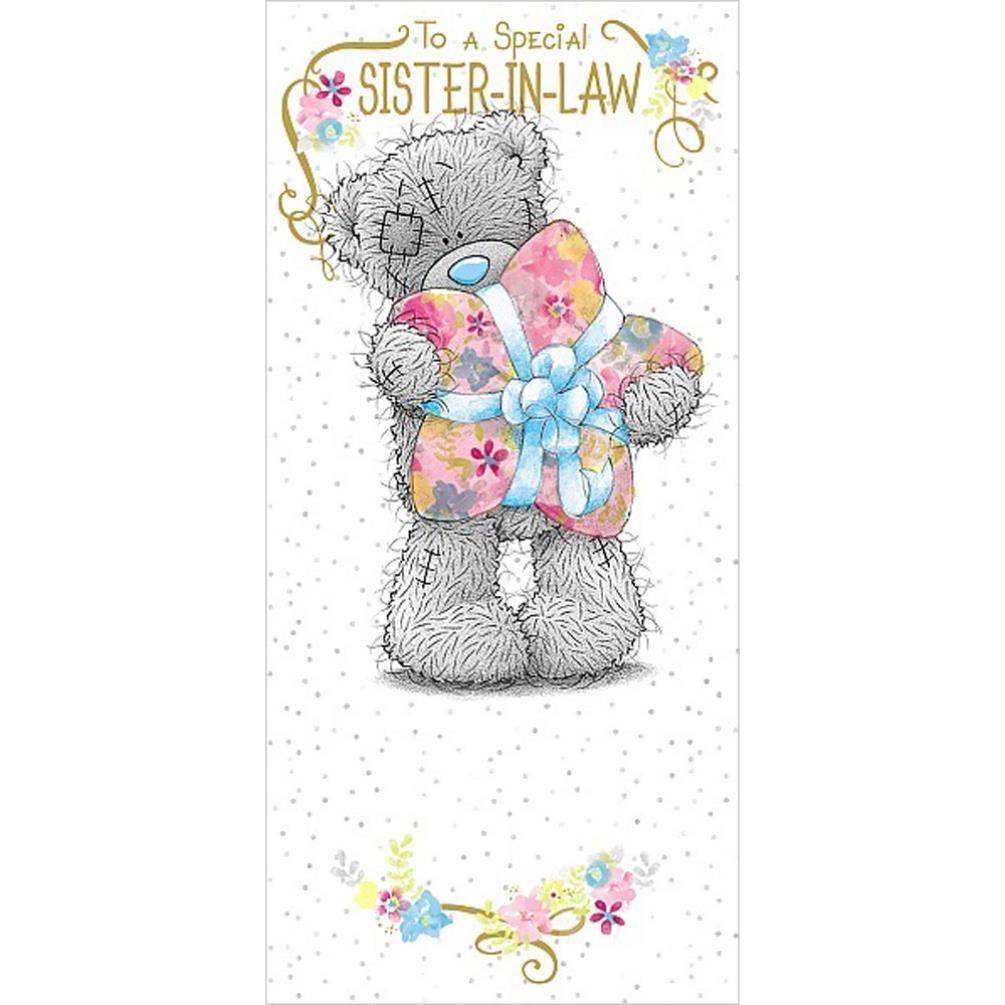 SisterInLaw Birthday Me to You Bear Card Bear card