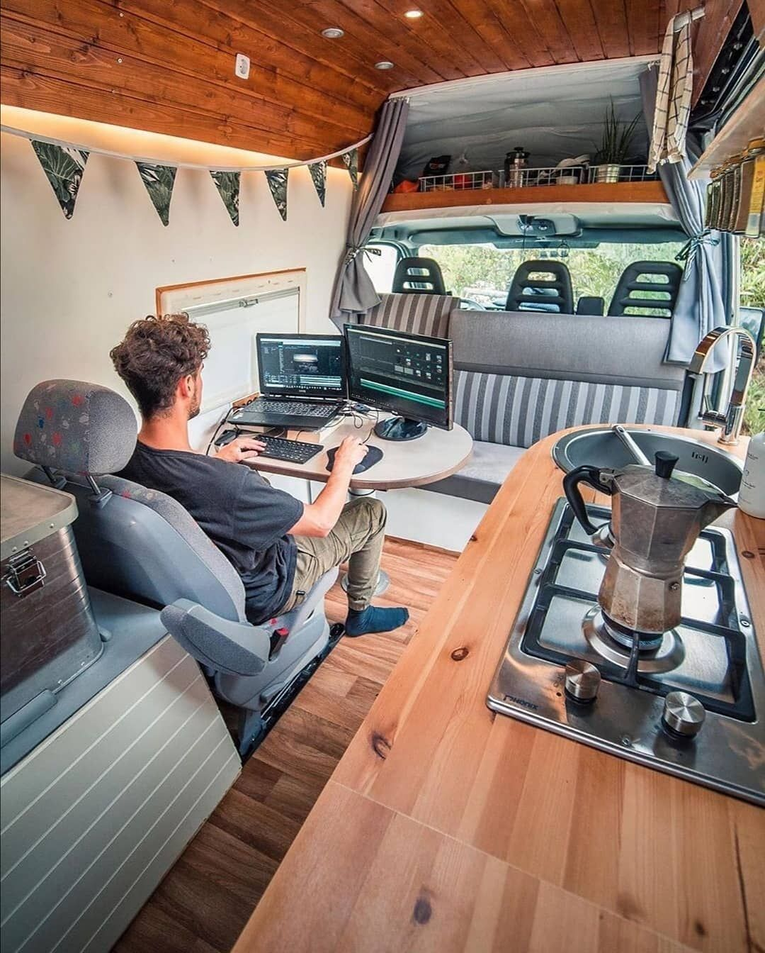 "Photo of Living Van Life on Instagram: ""📸 from @sebastian_schieren Follow if you want to get inspired Living Van Life ❤️ Use #livingvanlife to get featured 🚌"""