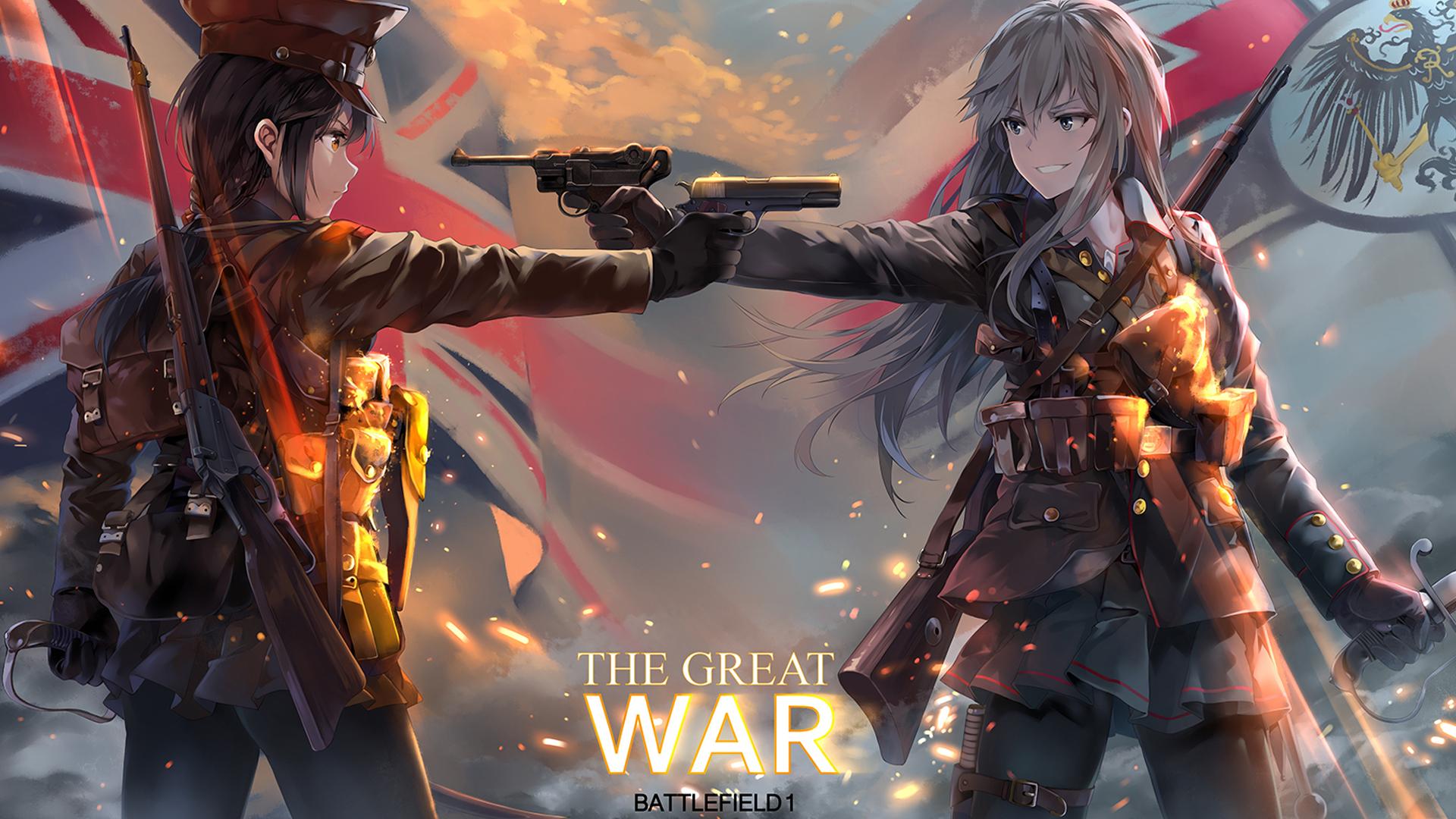 The great war 1920x1080 hd wallpaper from - Anime war wallpaper ...