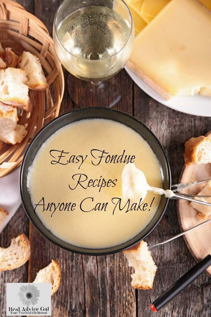 Easy Fondue Recipe #brothfonduerecipes