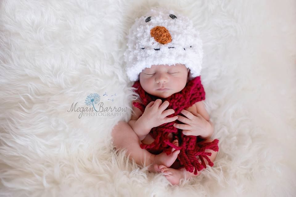 Merry Christmas, from Frosty the Snowman! (Photo by Megan Barrow Photography)