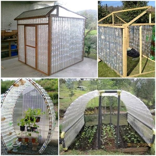 Wonderful DIY Plastic Bottles Green House Part 89