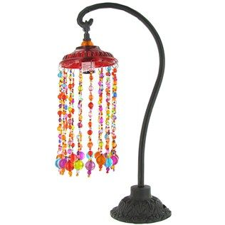 39 99 Multi Color Beaded Table Lamp Hobby Lobby Love The